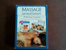 Massage  With Aromatherapy DVD And Booklet 27 Flash  Cards Wellbeing Program New