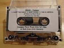 VERY RARE Wood DEMO CASSETTE TAPE Violator MARK WOOD Trans-Siberian Orchestra !
