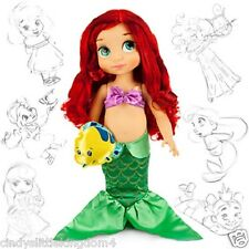 New Disney Store Little Mermaid Ariel Animators Collection doll 38cm tall Age 3+