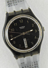 """Swatch GB741""""Its Here Strap"""" 1999 Fall Winter Collectionw Day/Date """"RARE""""!"""