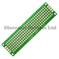 20x80mm BIADESIVO RAME prototipo PCB Matrix / STRISCIA Epossidico fibra di vetro bordo