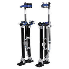 Black 24-40 Inch Drywall Stilts Aluminum Tool Stilt For Painting Painter Ta