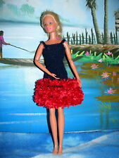 robe scintillante pour barbie coeur de princesse faite main en france qualite @