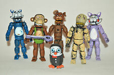 TOY MEXICAN SET 6 FIGURES FIVE NIGHTS AT FREDDY'S ANIMATRONICS CANDY'S TERROR