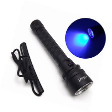 eMart 10W 395-400nm 3 X LED Diving UV Ultra Violet Torch Flashlight , underwater