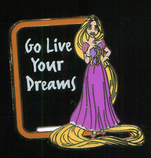 WDW GenEARation D 2015 Life Lessons Mystery Rapunzel Live Your Dreams Disney Pin