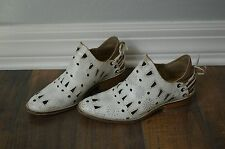 NEW ANTHROPOLOGIE MUSSE & CLOUD Cutout Coolway Anise Desert Ankle Boots Size 8