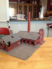 ho scale built building truck terminal lumber yard Old Brickworks factory mill