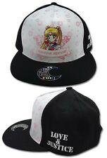 Sailor Moon: Sailormoon R White/Black Anime Trucker Hat Cap NEW