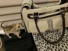 Pet Carrier Purse Cat/Dog Comfort Travel Bag Tote Handbag