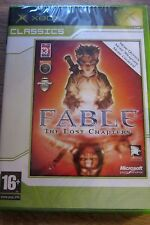 Fable the lost chapters Xbox game, pal uk-sealed