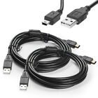 2pcs 6ft USB Charger Charging Cable Cord for Sony Playstation 3 PS3 Controller