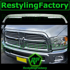 10-15 Dodge Ram Heavy Duty Chrome Front Hood Shield Grille Guard Bug Deflector
