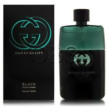 Gucci Guilty Black Pour Homme 3.0 oz Men Eau de Toilette 90 ml Spray NIB SEALED