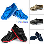 Mens Boys Casual Sport Sandals Rubber Slip-on Slide Summer Beach Shoes With Hole