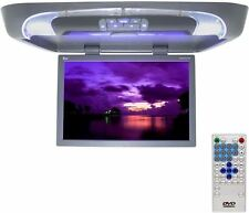 "TView T20DVFD 20"" Gray Flipdown Car Video Monitor DVD Player IR Transmitter"