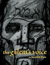 The Golem's Voice by David G. Klein (2015, Paperback)