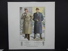 Men's Fashion, Suits, Clothing, 1920's Catalog, One Page, S2#10