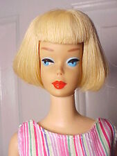 Vint. Barbie 1965 PALE BLONDE AMERICAN GIRL Doll - Hi Color Face