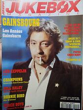 revue JUKEBOX MAGAZINE n°94 - GAINSBOURG LED ZEPPELIN BILL HALEY RONNIE BIRD