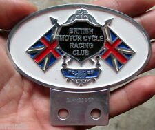 BRITISH MOTORCYCLE RACING CLUB BADGE BSA NORTON TRIUMPH ARIEL AJS MATCHLESS