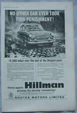 1959 Hillman Minx Original advert No.2
