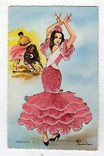 cartolina postcard - COSTUMI ANDALUCIA