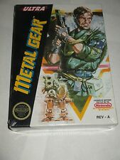Metal Gear (Nintendo NES, 1988) NEW Factory Sealed #4