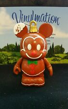 "DISNEY Park Vinylmation 3"" Set 1 Jingle Smells Gingerbread Christmas Ornament"