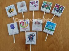 20 Personalised Lollipop WRAPPERS Birthday Party Favours POSTED 1st CLASS