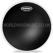 "Evans 14"" Black Chrome Tom Tom Drum Batter Head - TT14CHR"