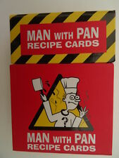 Man with Pan Recipe Cards - 78 Recipes - Match Day/Late Night/Red Hot/Sexy Fare/