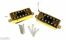 Toaster 'Bucker Gold Humbuckers pair - Vintage look, Amazing tone #54-038-01