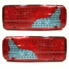 Set Of 2 Led Rear Tail Lights Truck For Man Tga Tgm Tgl Tgx 2005