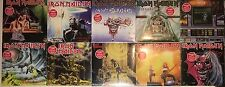 "IRON MAIDEN 10 7"" SINGLES Collection SEALED LOT Running Free Aces High Purgatory"