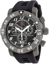 Invicta 17528 Men's Sea Base Titanium Black Polyurethane Watch