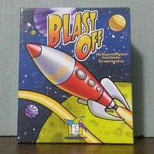 new Gamewright Blast Off the Race Into Space Card Game outer exploration rocket