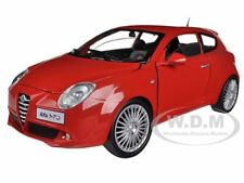ALFA ROMEO MITO RED 1/24 DIECAST MODEL CAR BY MOTORMAX 73371