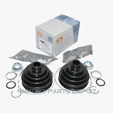 BMW Axle CV Joint Outer Boot Complete Kit Front GKN Lobro OEM 507402 (2pcs)