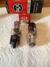 RAYTHEON/RCA/SYLVANIA  OC3 ELECTRON TUBES (1PAIR)***