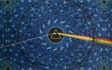 "Tapestry - Pink Floyd ""Dark Side Lyric "" 3D 30x45 (Glasses Included) FREE MAIL"
