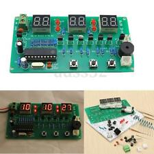 "DIY Kit 5-12V AT89C2051 6 Digital LED Electronic Clock Parts Components  3.9x 2"""