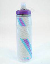 CAMELBAK PODIUM BIG CHILL BICYCLE WATER BOTTLE 25oz BPA FREE, Blue/Purple/White