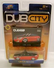 LEXUS SC430 CONVERTIBLE DUB CITY DIECAST JADA COLLECTOR #058 RARE