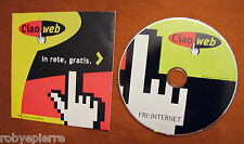 vendo vintage per PC CD-ROM INTERNET CIAO WEB IN RETE GRATIS EMAIL CASELLA