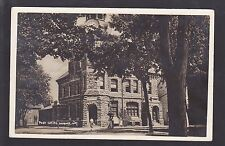 1915 Vintage Real Photo RPPC Postcard Post Office NAPANEE Ontario Canada