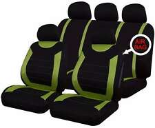 Oxford Green 9 Piece Full Set Of Seat Covers For Alfa Romeo 156