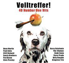 (2CD's) Volltreffer! 40 Number One Hits - Paul Anka, Elvis Presley, Pat Boone