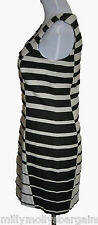 New Womens Black White NEXT Dress Size 10 DEFECTS