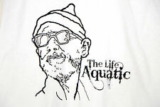 BILL MURRAY from The Life Aquatic with Steve Zissou T-SHIRT - MEDIUM - White